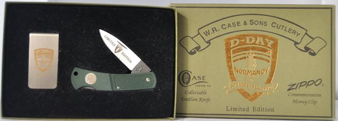 1994 D-Day Knife and Moneyclip