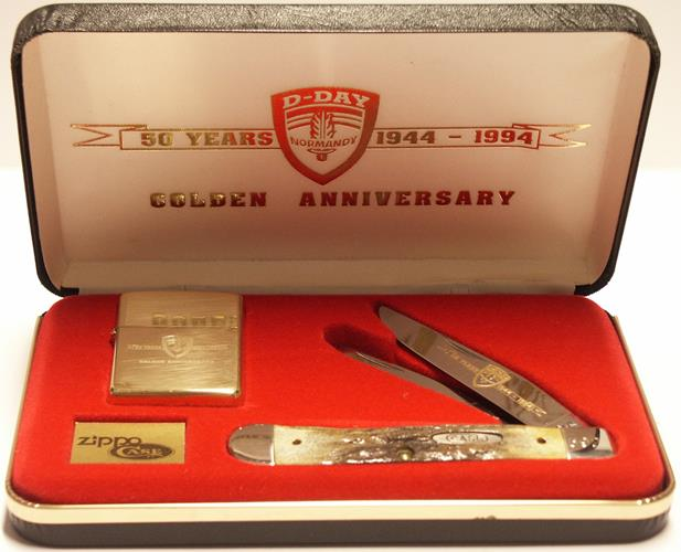 1994 D Day Zippo Knive