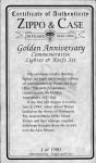 1994 certificaat zippo d-day