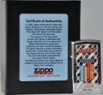 2006 Zippo slim 50th click box