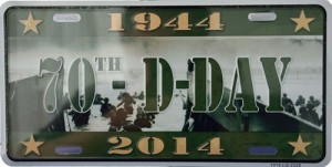 2014 Sign D-Day 70th