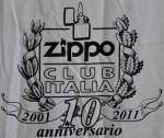 T-shirt ZCI 10th 2011 back