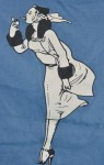 T-shirt windproof back