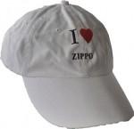 Cap I love zippo