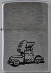 2002 Zippo car jap drawing black