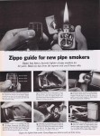 1964\09\11 Zippo guide for pipe smokers