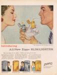 1956 All-New Zippo Slim-Lighter