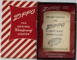Zippo = box red stripes