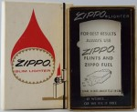 Zippo lighter box flame slim