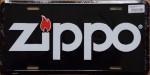 2014 Zippo License plate Black