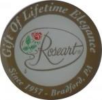 Roseart pin