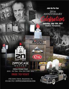 20TH Anniversary Zippo Museum Bradford @ Zippo Museum | Bradford | Pennsylvania | Verenigde Staten