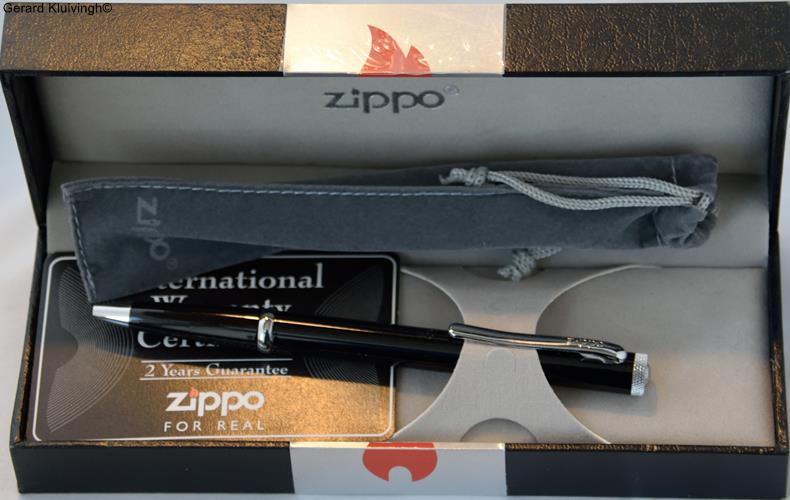 2016 Zippo pen black