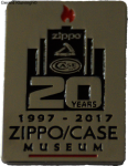 2017 20th Museum pin
