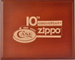 2003 10th Anni Zippo Case cover
