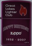 2007 GLLC 75th Zippo