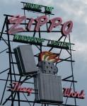 Zippo Neon Sign