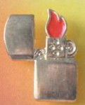 Zippo red flame