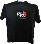 T-shirt Love tour