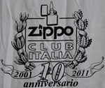 T-shirt ZCI 10th 2011 back