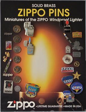 Zippo Pin Display
