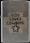 2000 God loves cowboys up