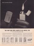 1959 The new slim Zippo