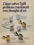 1967 Zippo solves 7 gift problems