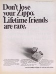 1968 Dont lose your Zippo