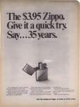 1968 The $3.95 Zippo