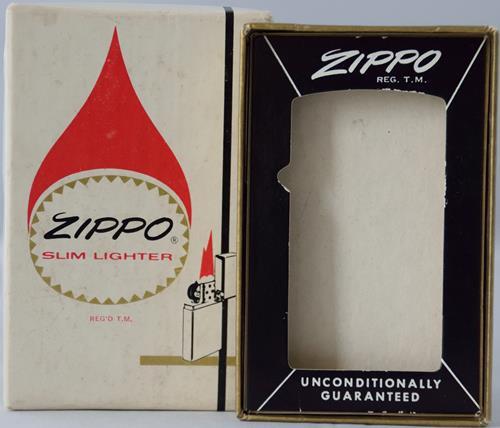 Zippo Box Flame Slim