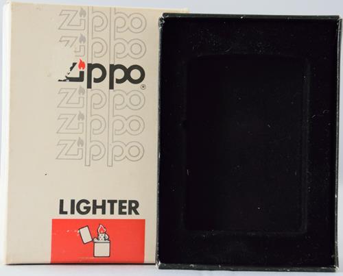 Zippo lighter box felt