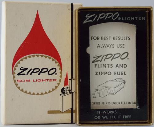 Zippo lighter box flame slim