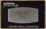 1960 Zippo Pocket Knife Munex