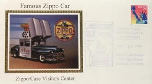 1998 FDE Famous Zippo Car
