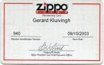 2003 Member Card