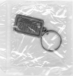 Car License Keyring