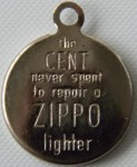 Cent Zippo Lighter