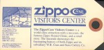 Zippo guarantee blue front