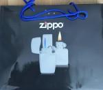 Zippo Bag blu hand