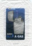 Zippo bag paper Blu