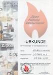 2014 ZFD Urkunde