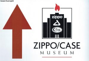 On the way to the Zippo Museum...
